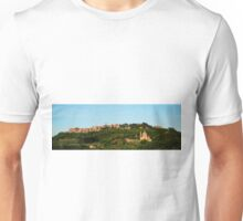 Italian Hill Town at Sunset Unisex T-Shirt