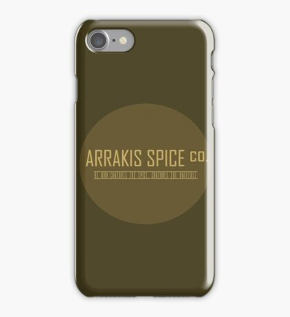 Dune Arrakis Spice Co. iPhone Case/Skin