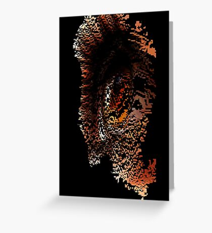 Drippy Data Greeting Card