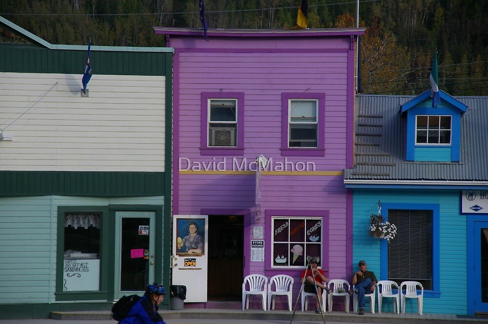 Quiet Day On The Chair Market by David McMahon