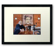 Charles and Frida Framed Print
