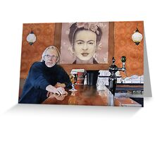 Charles and Frida Greeting Card