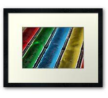 Frozen Treats Framed Print