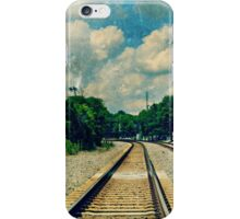 On the Train to Nowhere iPhone Case/Skin