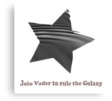 Join Vader Canvas Print