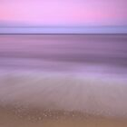 Dusk - sunset at Ella Bay by Jenny Dean