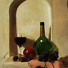 Wall Niche Still Life by Barry W  King
