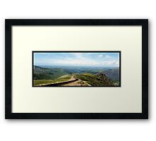 A view from Snowdon Framed Print