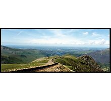 A view from Snowdon Photographic Print
