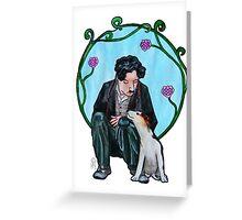 Charles Chaplin Greeting Card