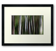 Ghost Gums Framed Print