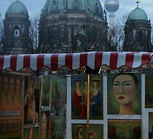 Cold November Market - Berlin by Thomas Fitzgerald