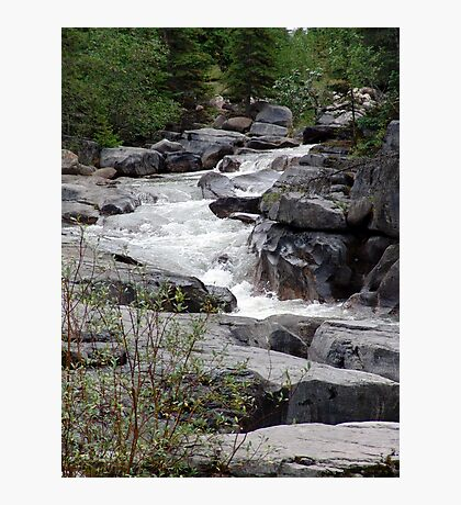 Maligne River Photographic Print