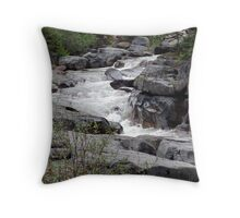 Maligne River Throw Pillow