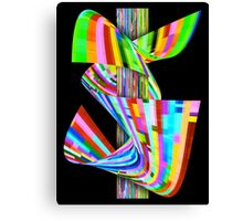 Ribbons of Digital DNA Canvas Print