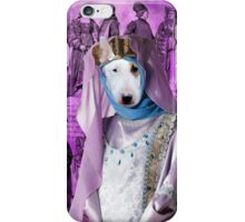 Bull Terrier Art - Princess iPhone Case/Skin