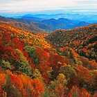 AUTUMN VALLEY by Chuck Wickham