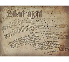 Silent Night . . . Photographic Print