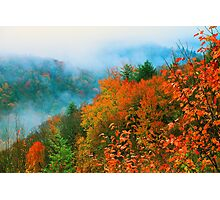 VALLEY IN THE CLOUDS Photographic Print
