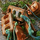 Rusty Anchors by Orla Cahill Photography