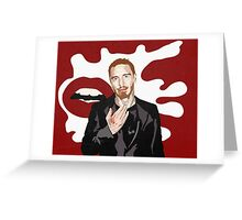 Motherfu*ker Fassbender Greeting Card