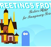 Greetings from fosters home for imaginary friends by Jair Henriques