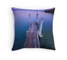 The Jetty IV Throw Pillow