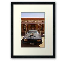 Mad Max Car Framed Print