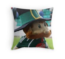 Pilgrim Pete - come on you Greens! Throw Pillow
