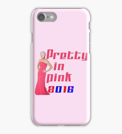Pretty in Pink 2016 - Bill Clinton iPhone Case/Skin