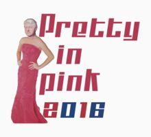 Pretty in Pink 2016 - Bill Clinton by jammin-deen