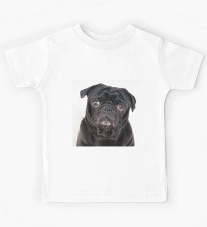 Black Pug Kids Tee