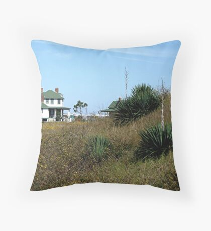 Softer Side of Ft Pickens Throw Pillow