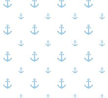Light-Blue Anchors by ImageNugget