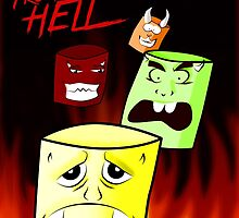 Marshmallows from hell by Jair Henriques