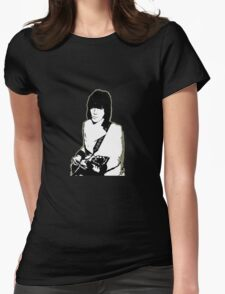 Jeff Beck Womens Fitted T-Shirt