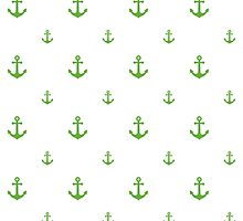 GrassGreen Anchors by ImageNugget