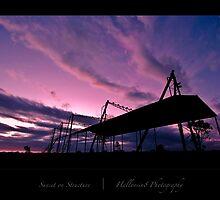Sunset on Structure by halloosin8