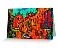 Venice Sunny Day Fine Art Print Greeting Card