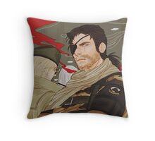 Phantom Pain Throw Pillow
