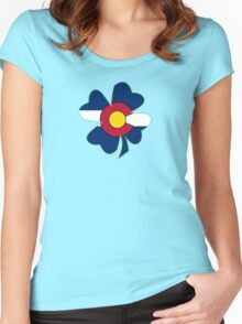 Lucky to be in Colorado Women's Fitted Scoop T-Shirt