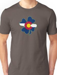 Lucky to be in Colorado Unisex T-Shirt
