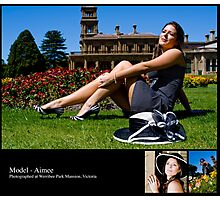 October 2010 Model Aimee Photographic Print