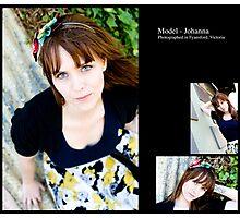 July 2010 Model Johanna Photographic Print