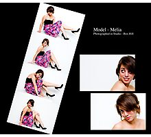 May 2010 Model Melia Photographic Print
