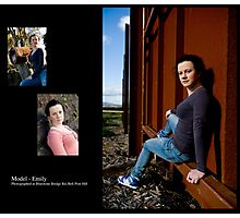 March 2010 Model Emily Photographic Print