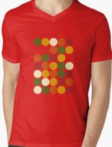 Sun color dots Mens V-Neck T-Shirt