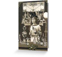 Artemisia's Absinthe Greeting Card
