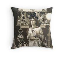 Artemisia's Absinthe Throw Pillow