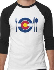 High Altitude Cookin - Colorado Men's Baseball ¾ T-Shirt